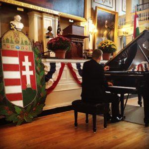 World-class Hungarian Pianist Adam György at Faneuil Hall