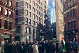 Hungarian Americans Commemorate 1956 at Boston Liberty Square