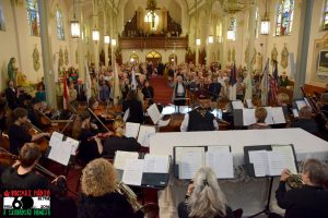 Over 400 people attended the memorial concert at St Emeric Church