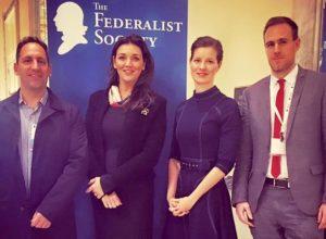Dr. Sandor Udvary, Dr. Beatrix Borbás and Dr. Mátyás Módos with HIF Executive Director Anna Smith Lacey