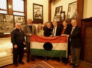 Minnesota Hungarians 56ers with Honorary Consul Csilla Grauzer