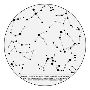 Circle with stars