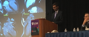 Dr. Kittka presenting his case at the he world's largest and most important educational meeting specializing in interventional cardiovascular medicine