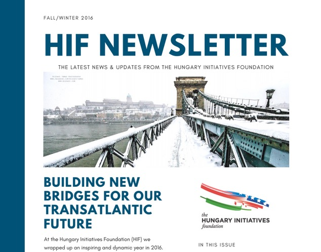 Read Our Fall/Winter 2016 Newsletter