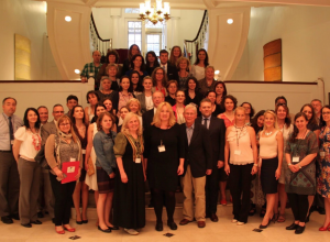 Participants of AMIT 2017 at the Consulate General of Hungary in New York