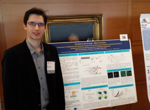 Mr. Toth at the Frontiers in Cancer Immunotherapy conference in New York