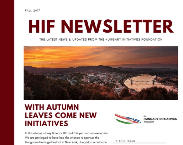 Read our Fall 2017 Newsletter