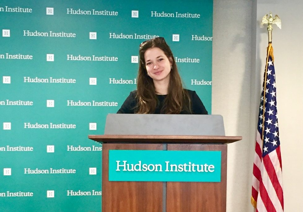 HIF Graduate Scholar Boglárka Bozsogi Wraps Up Academic Year at Georgetown