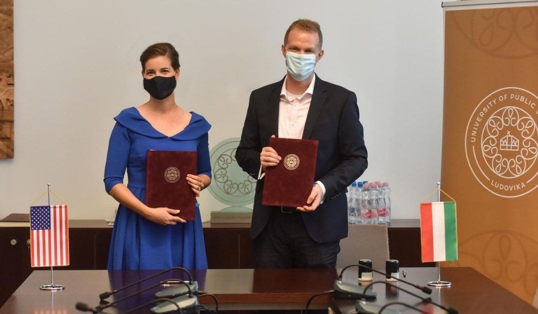 HIF and Ludovika-Public Service University Sign MoU to Expand Their Transatlantic Cooperation