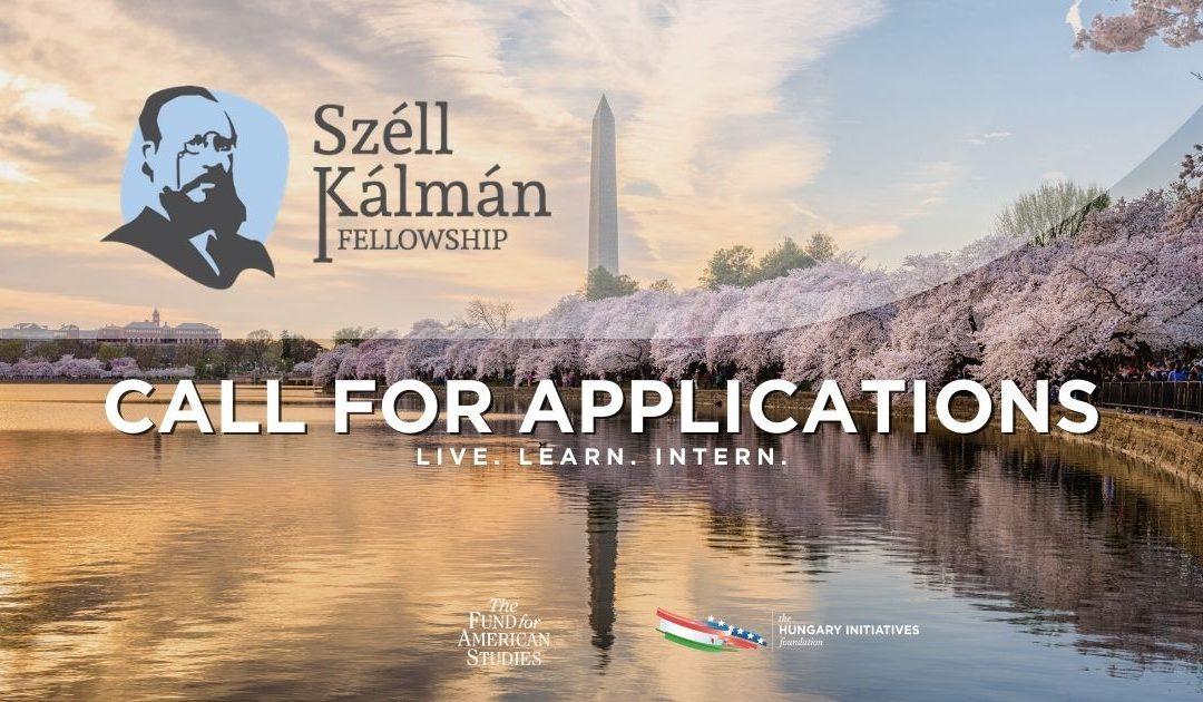 Call for Applications: 2021 Summer Széll Kálmán Public Policy Fellowship
