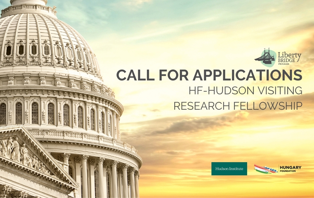 Call for Applications: HF-Hudson Institute VisitingResearch Fellowship