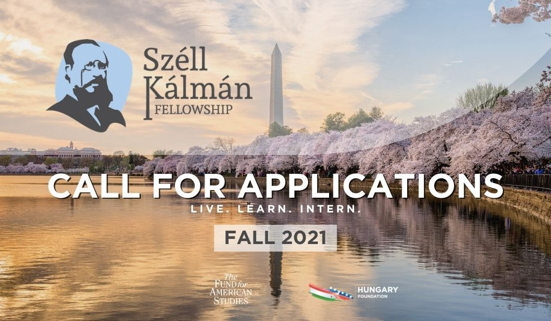 Call for Applications: Széll Kálmán Public Policy Fellowship Fall 2021