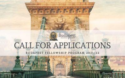 Budapest Fellowship Program Call for Applications 2021/22